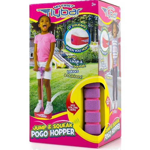 Foam jumper for little kids - their very first pogo stick! #ad