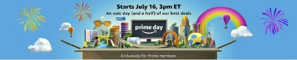 Amazon Prime Day starts July 16
