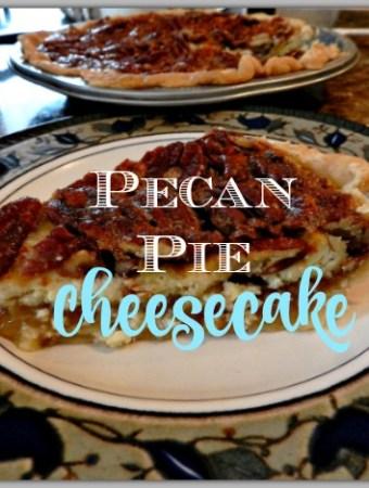 Recipe for pecan pie cheesecake