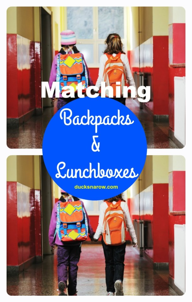 Buy matching backpacks, lunchbags and clothing for your #kids for school!