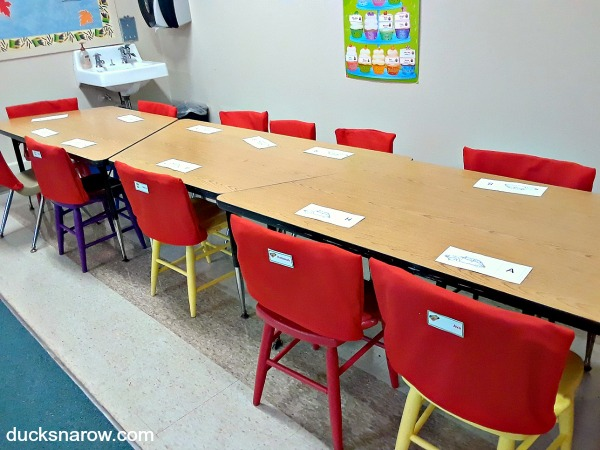 Make chair covers for preschool #tips