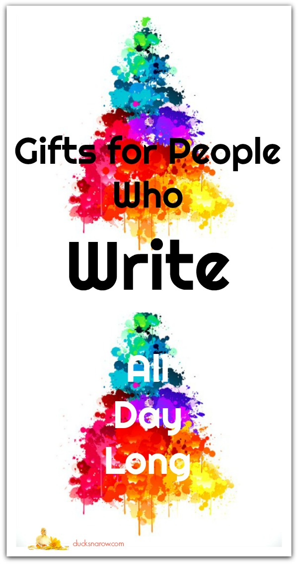 Great gifts for people who write all day long #tips #giftideas