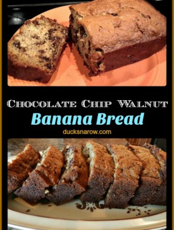 Fresh baked banana bread #recipes