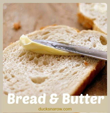 Spreading butter in a skillet is so easy this way! #tips