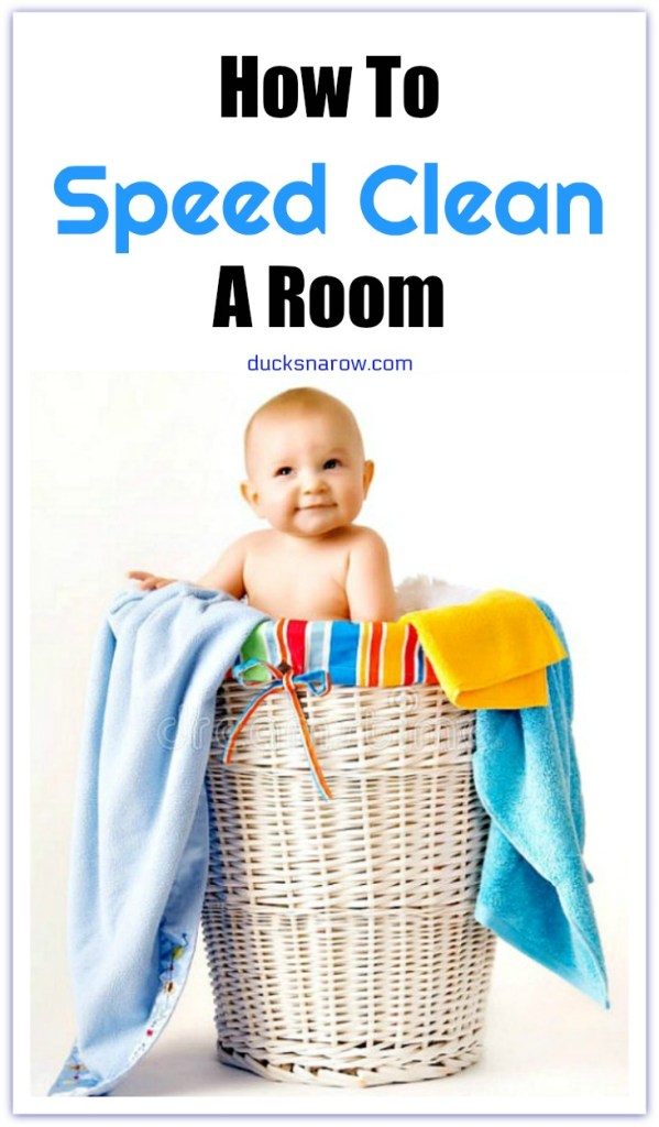 How to speed clean a room #cleaning #tips
