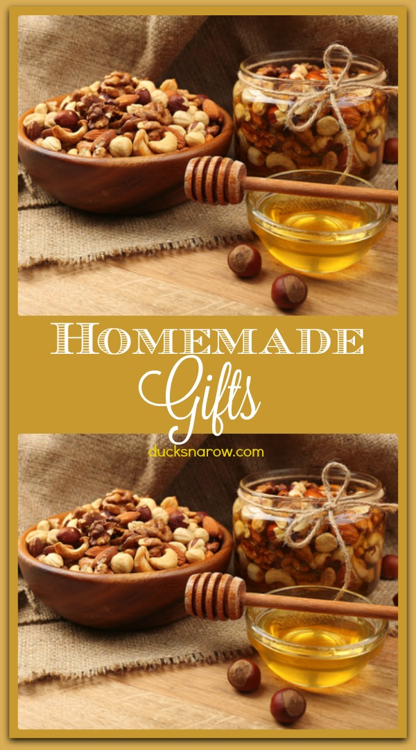 Homemade gifts can be the BEST gifts, too! #DIY #giftideas