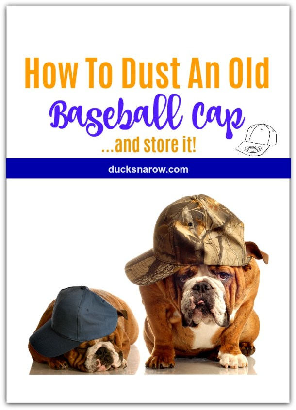 How to dust old baseball caps #tips