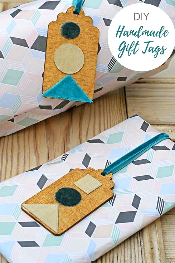 Handmade gift tags by Pillarbox Blue