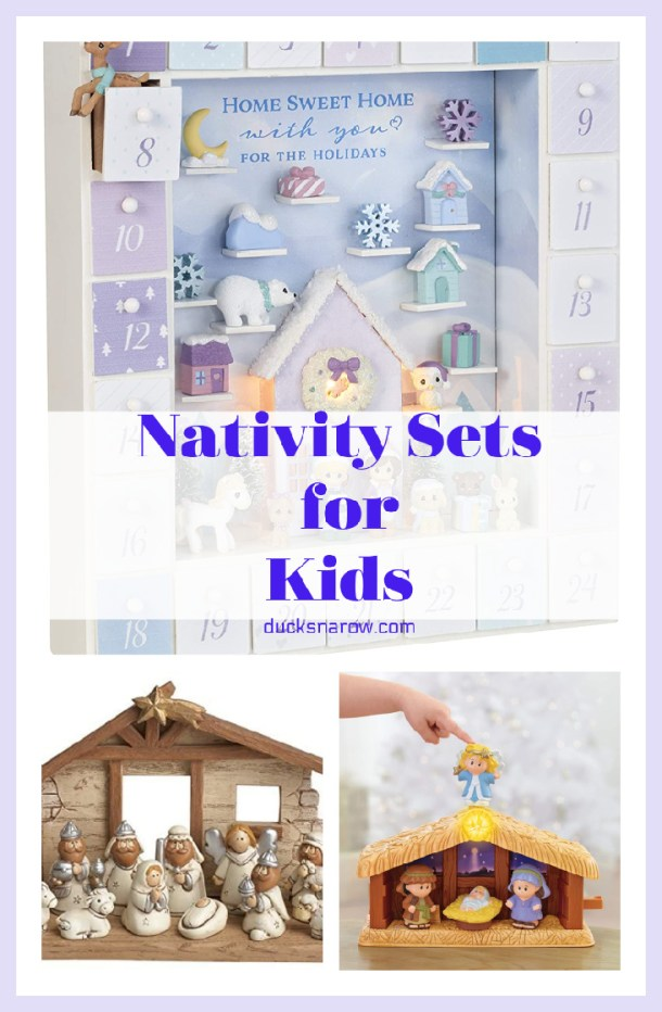 Nativity Sets for Kids #ad