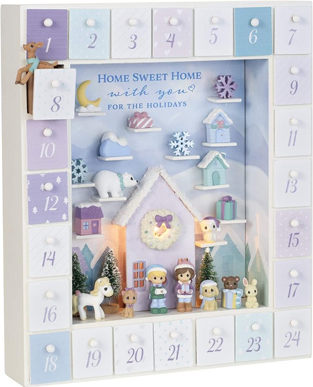 Precious Moments Advent Calendar family keepsake #ad