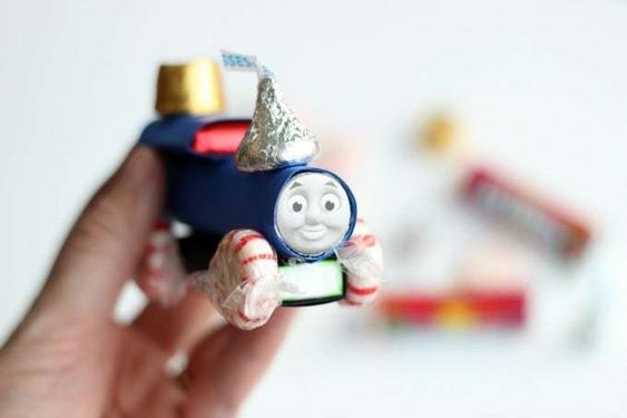 Thomas and Friends candy holiday train