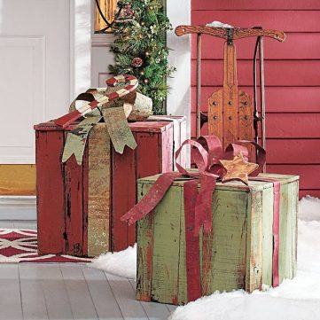 Christmas decor from Eclectic Red Barn