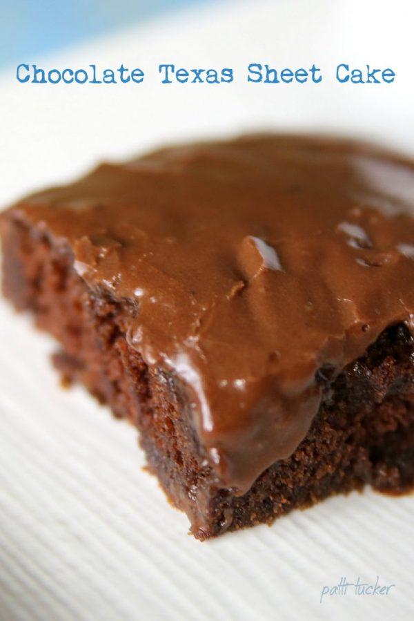 Chocolate Sheet Cake by Oh Mrs Tucker