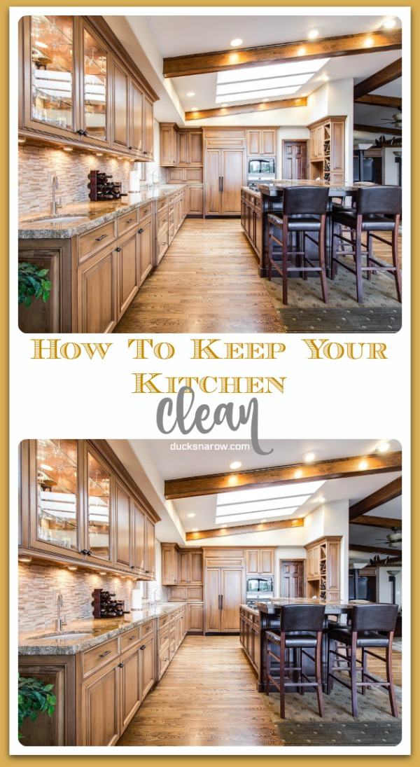 Simple way to keep your kitchen clean all the time #tips