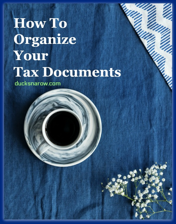Compiling your tax documents for doing taxes #tips