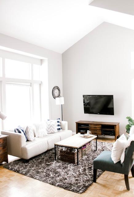 Lovely living room refresh #homedecor