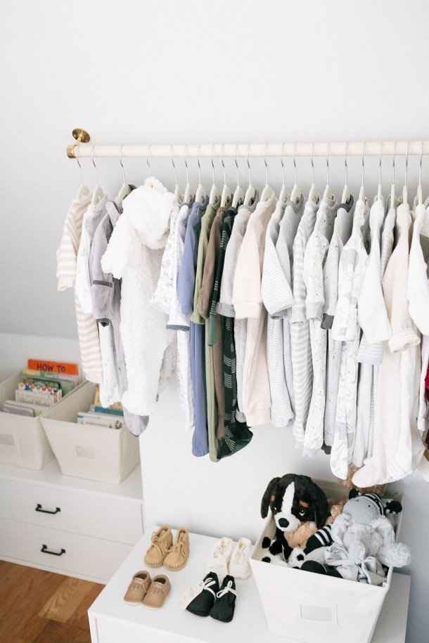 Baby's closet organizers and organizing tips