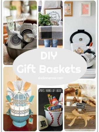 17 gift basket ideas #DIY