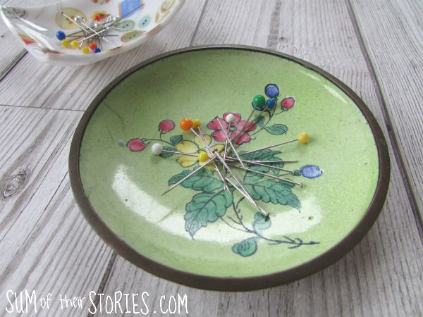 DIY magnetic pin dish tutorial #tips