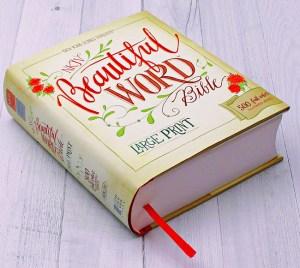 Beautiful Word large print NKJV Bible for women AD