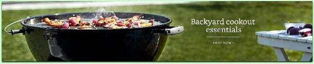 Backyard cookout essentials #ad