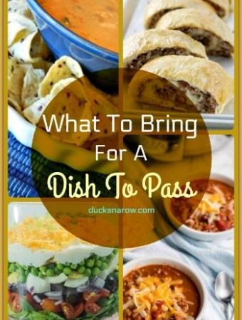Dish to Pass collection of recipes #potluck