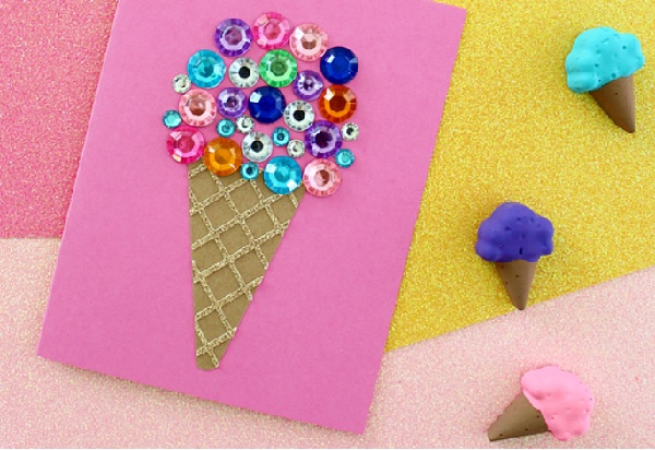 DIY ice cream cone craft