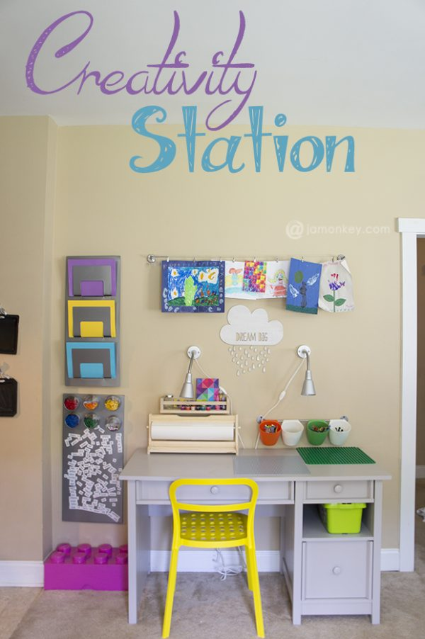 Kids Playroom Art Corner