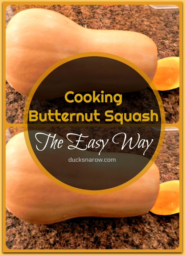 How to cook butternut squash the easy way #tips