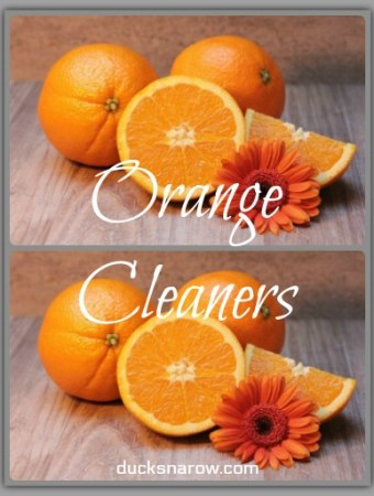 Orange cleaners #cleaning #tips