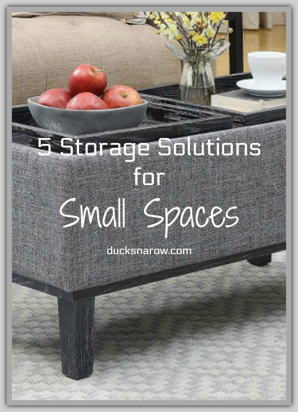 Storage solutions for small spaces #homedecor #storage #tips