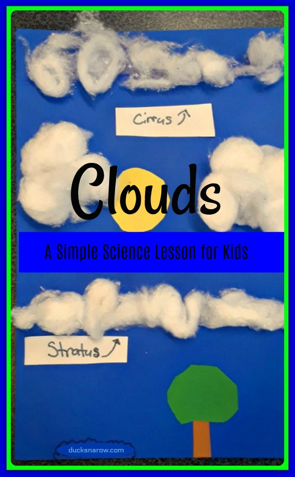 Teaching kids about clouds