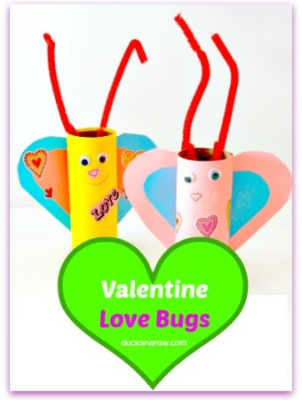 Valentine love bug #crafts #kids