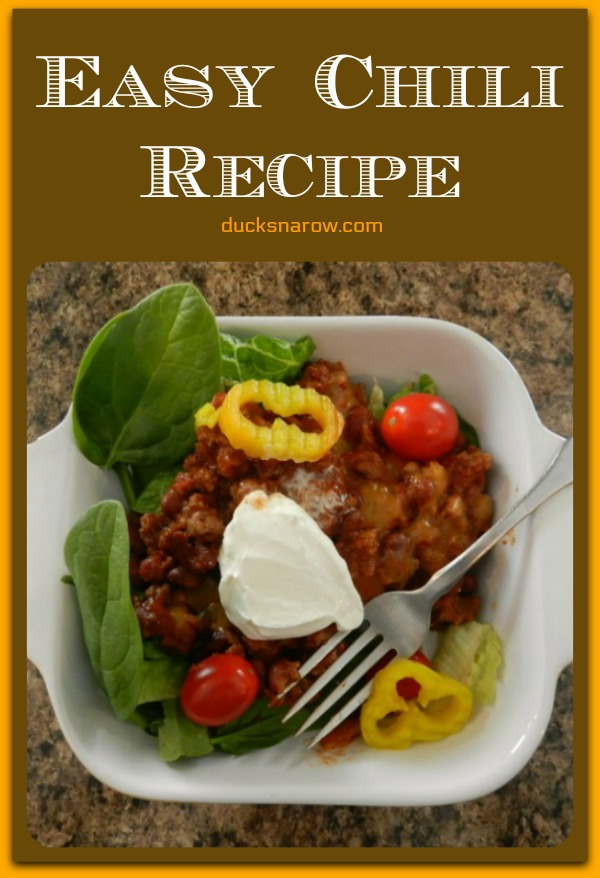 Excellent and easy chili recipe you will love #chili #recipes
