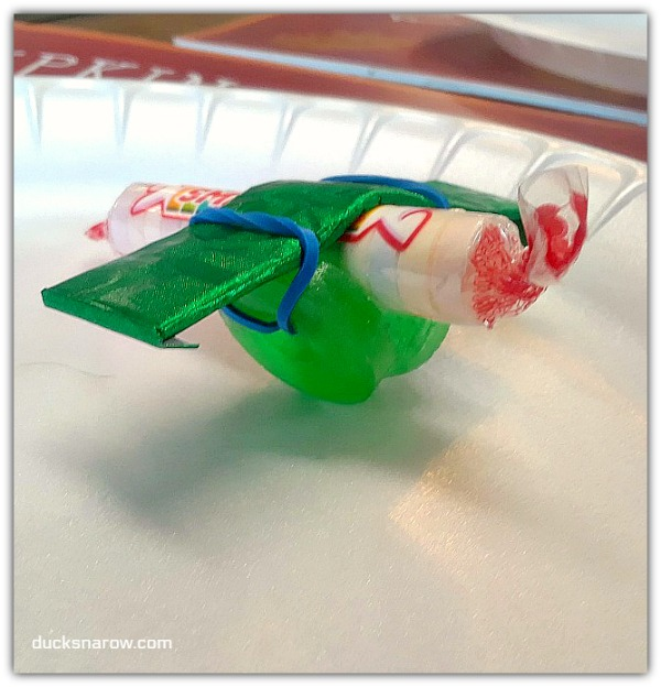 food art candy airplane #crafts