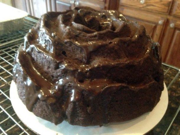 Milk chocolate almond bundt cake recipe