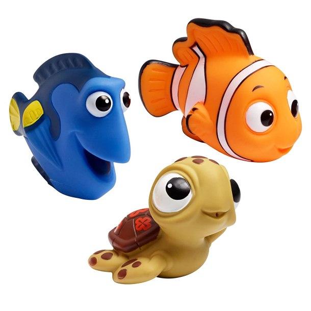 Disney Finding Nemo baby bath squirt toys #ad