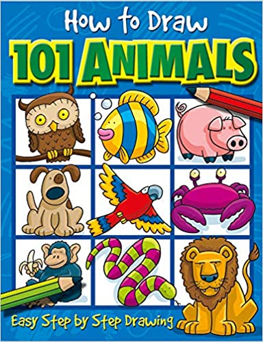 How to draw 101 animals #ad