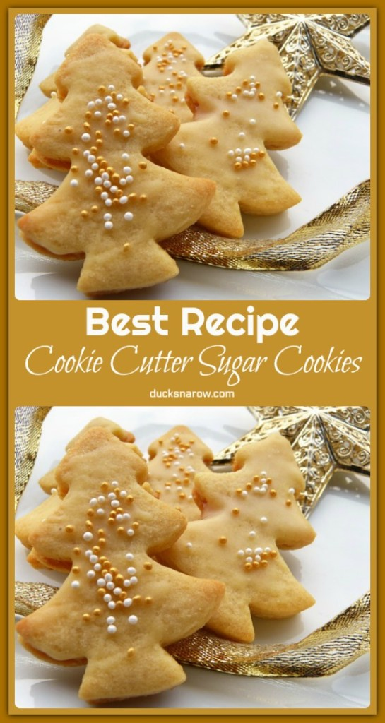 Cookie Cutter Sugar Cookies Recipe