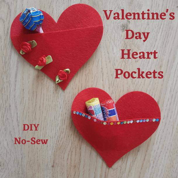 Valentine's Day Heart Pockets