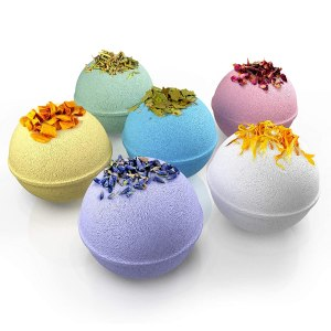 Handmade organic bath bombs #ad