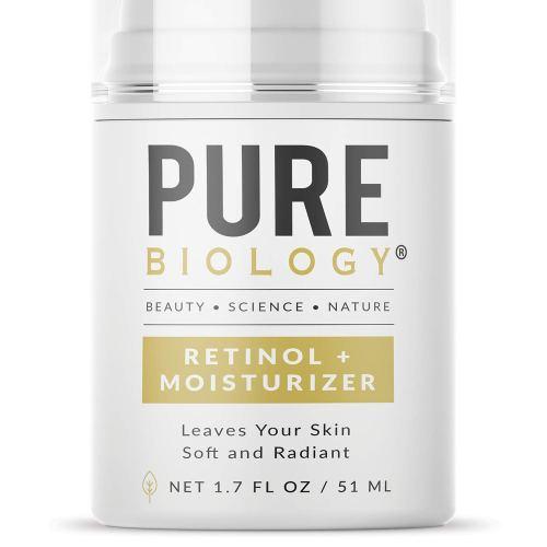 PURE retinol face cream #ad