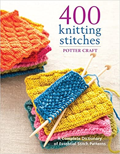 400 Knitting Stitches Guide Book #ad