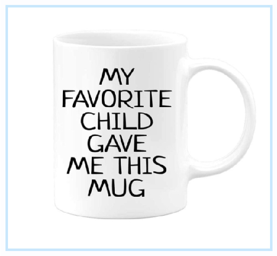 Cute coffee cup for mom on Mother's Day #ad