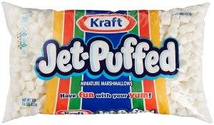 Jet Puffed mini marshmallows AD