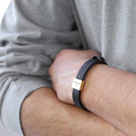 Handmade personalized bracelet for men - gifts for him
