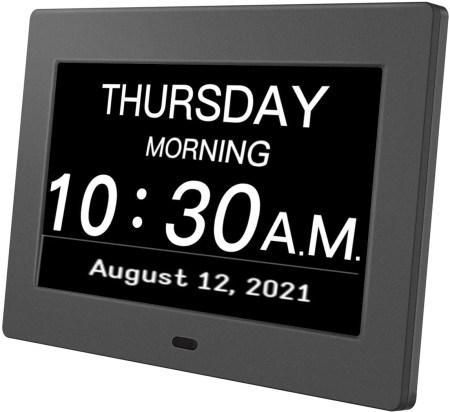 digital day clock