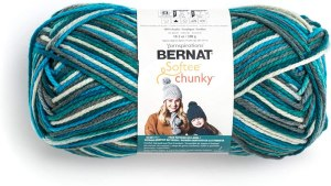 Chunky yarn for craft projects