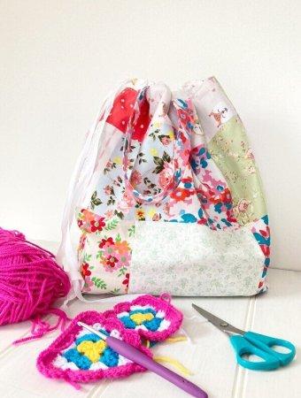 Sew a project bag