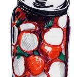 eingelegte radieschen, in ein paar tagen hoffentlich kimchi